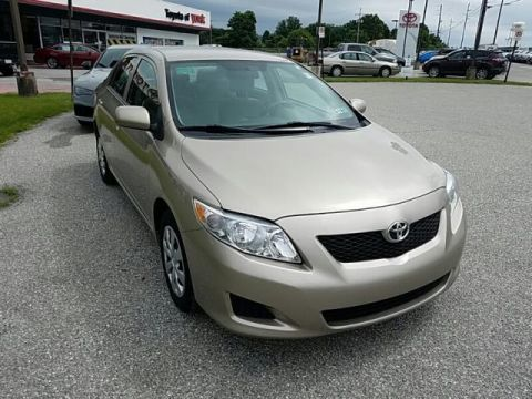 Pre-Owned 2010 Toyota Corolla LE FRONT WHEEL DRIVE sedan