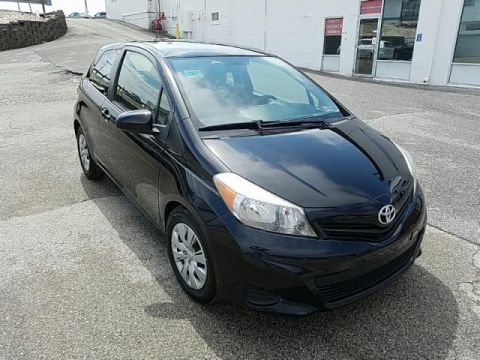 Pre-Owned 2012 Toyota Yaris LE FRONT WHEEL DRIVE coupe