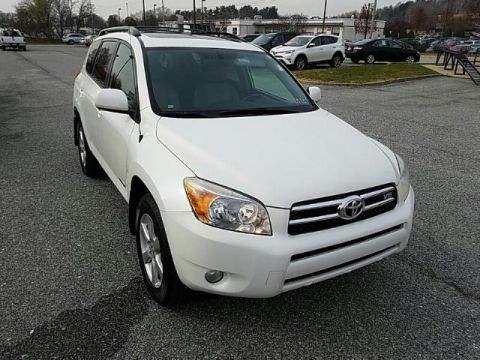 Pre-Owned 2008 Toyota RAV4 4WD 4DR V6 5-SPD AT LTD FOUR WHEEL DRIVE suv