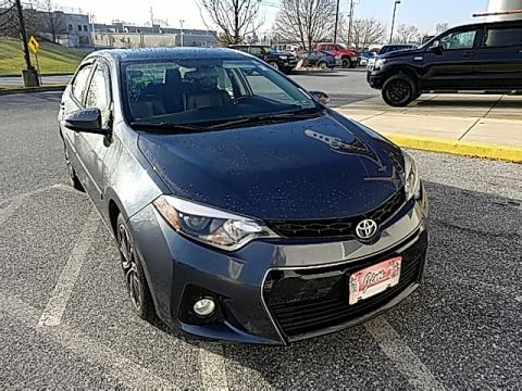 Pre-Owned 2015 Toyota Corolla S Plus With Navigation