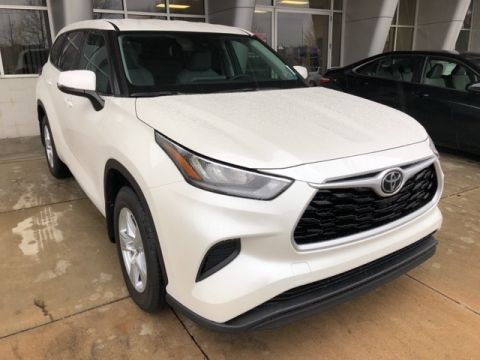 New 2020 Toyota Highlander L 4 door