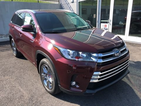 New 2019 Toyota Highlander Hybrid Limited Platinum 4 door