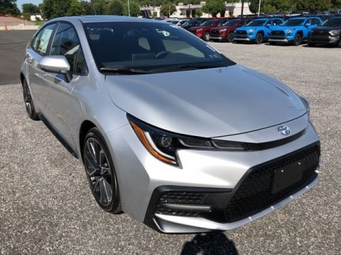 New 2020 Toyota Corolla FWD 4D Sedan