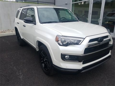 Pre-Owned 2019 Toyota 4Runner Limited Nightshade 4WD 4D Sport Utility